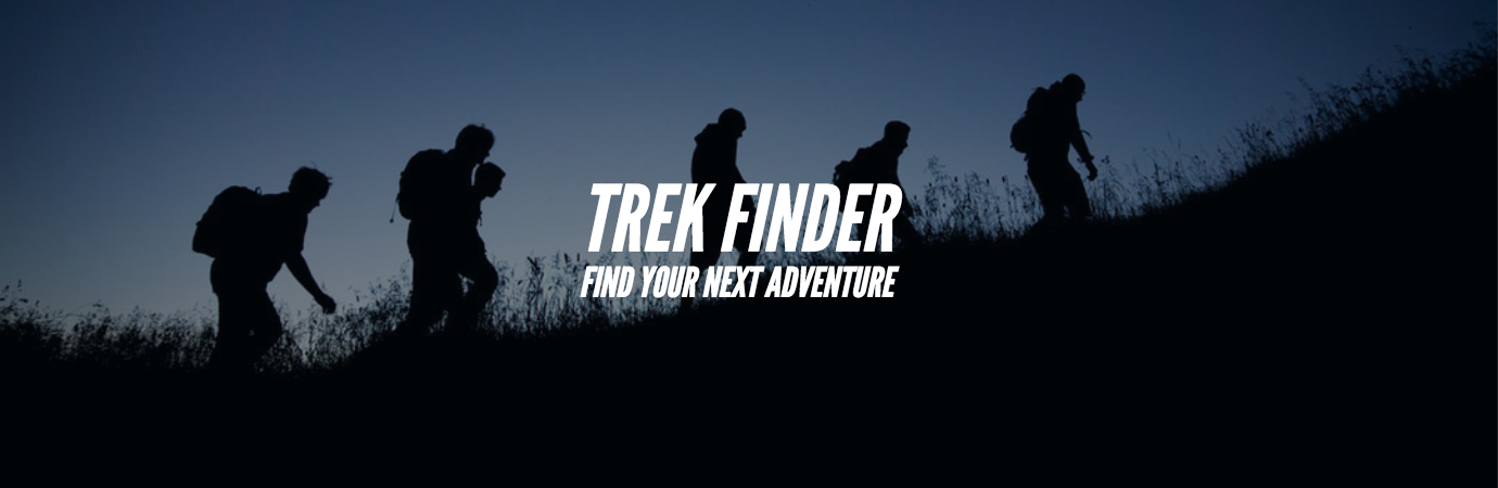 use the trekfinder to find your next adventure based on trek difficulty, grade, base village, district and height