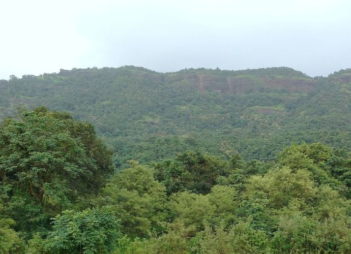 Avchitgad as seen from Nidi Station