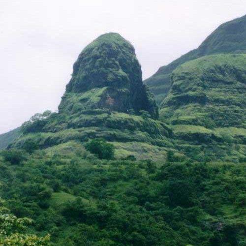 Kurdugad fort trek as seen from the base village